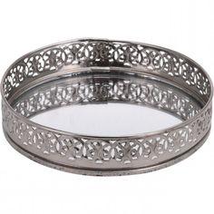 PLADANJ OKRUGLI 15CM SREB. KOOP Bracelets, Silver, Decorations, Jewelry, Jewlery, Jewerly, Dekoration, Schmuck, Jewels