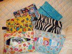 medium zipper bags for wipes for binkys or little hands