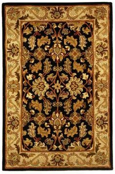 Heritage Collection Traditional Rug With Red Green and Gold Floral Design - Safavieh Rugs | Rugs by SelectRugs.com $51.64