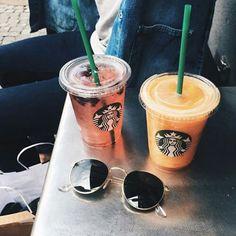 Imagen de starbucks, drink, and food