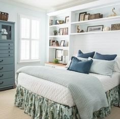Excellent Bookcases Around Bed Design Pictures Remodel Decor And Ideas