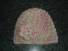 Crochet baby beanie hats  My last project in Marchhas beento make these cute little crochet baby beanie hats.  Individually t...