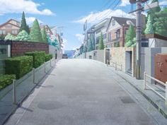anime landscape - Google zoeken