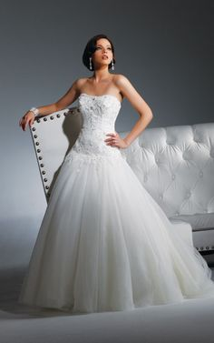 """This is THE dress! I'll """"say yes to the dress""""."""