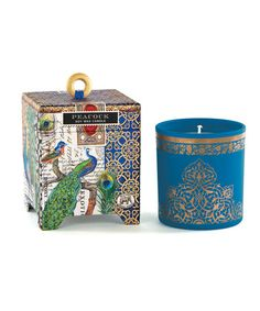 Take a look at this Peacock 6.5-Oz. Candle by Michel Design Works on #zulily today!