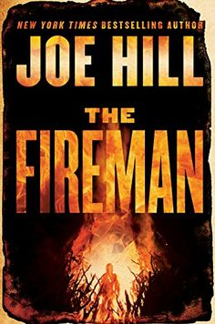 Books recommended by Stephen King, including The Fireman by Joe Hill.