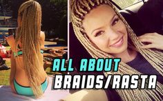 White girl Braids