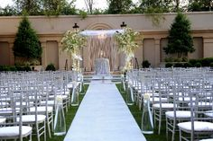 Kordell & Porsha Stewart's ceremony by Tiffany Cook Events