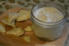 The Tasty Alternative: Cocoa and Shea Body Butter for Dry Skin and Eczema