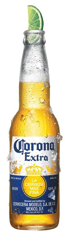 Corona Extra - Who doesn't like this? How many reasons have u heard about the use of lime????