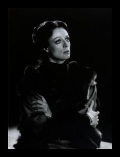 Maggie Smith as Lady Macbeth, Stratford, Ontario, 1978.