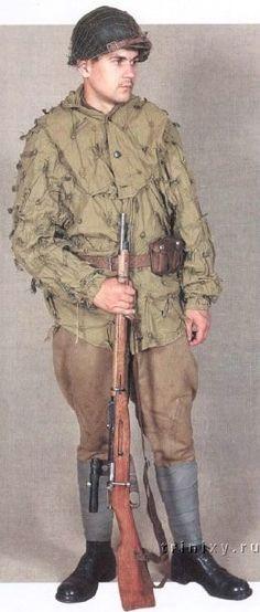 Uniformes del Ejército Rojo VIII-8