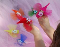 peg people flower fairies