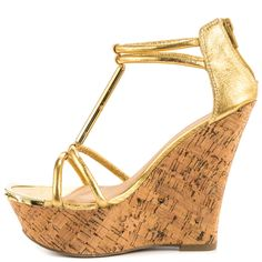 Stacie - Gold JustFab $54.99