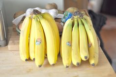 Food for Runners: Bananas -- health benefits and best recipes from across the web!