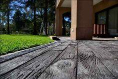 Revestimiento Símil Madera Quebracho Habano Sidewalk, Deck, Outdoor Decor, Home Decor, Ceiling, Houses, Decks, Flooring, Pools