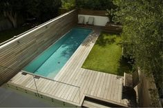 Just because you have a small backyard doesn't mean you can't have a pool. Click image for more decking materials