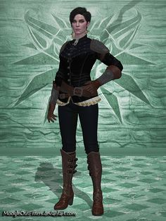 The Witcher 3 - Syanna by MoogleOutFitters.deviantart.com on @DeviantArt