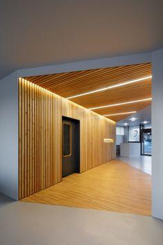 all photos©Koji Fujii/Nacasa and Partners Inc. Corridor, Building, Interior, Room, Furniture, Home Decor, Indoor, Bedroom, Homemade Home Decor