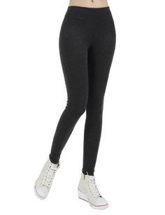 Doublju Women's stylish daily napping leggings CHARCOAL F Doublju. $14.99. Save 54%!