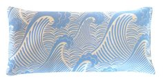 Organic Cotton Eye Pillow - Tradewinds Blue Waves