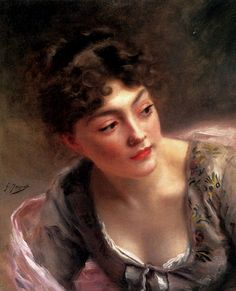 ~ Gustave Jean Jacquet  ~ French, 1846-1909