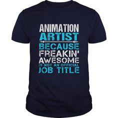 ANIMATION ARTIST T Shirts, Hoodies, Sweatshirts. CHECK PRICE ==► https://www.sunfrog.com/LifeStyle/ANIMATION-ARTIST-Navy-Blue-Guys.html?41382