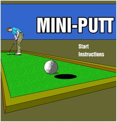 Play MiniPutt Golf Game http://ultoo.com/blog/play-miniputt-golf-game/