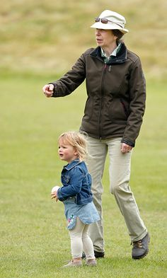 Mia Tindall has a ball with her grandmother Princess Anne at polo festival - HELLO! Canada
