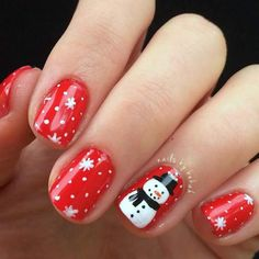 Newest Christmas Nail Ideas for Christmas Sweater Nail Art Designs Ideas; easy and cute Christmas nails; Holiday Nail Art, Christmas Nail Art Designs, Winter Nail Art, Winter Nails, Holiday Mood, Beach Holiday, Christmas Design, Red Nail Polish, Red Nails