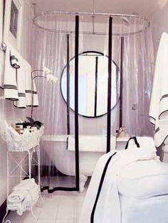 Small Bathroom Ideas, 11 Retro Modern Bathrooms Designs