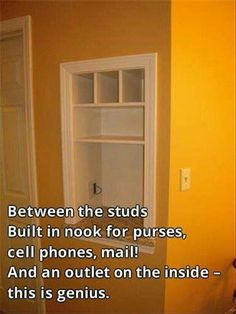 genius ideas (8) If memory serves, many homes used to do this....until about the late 60s... ?