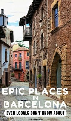 Epic Places In Barcelona Even Locals Don't Know About Discover 11 hidden gems In Barcelona you won't find in most travel guides.Discover 11 hidden gems In Barcelona you won't find in most travel guides. Ibiza, The Places Youll Go, Places To Visit, Barcelona Spain Travel, Barcelona In Winter, Barcelona Bars, Visit Barcelona, Places To Travel, Travel Destinations