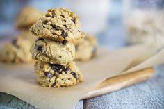 Coma Orgánico: Receta de Galletas de Choco Chips hechas con harina de coco y almendra. Libres de gluten.
