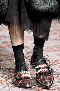 Simone Rocha осень-зима 2018, 75 лучших пар обуви Недели моды в Лондоне