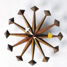Polygon Clock designed by George Nelson, circa 1961