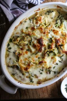 French Onion Zoodle Bake www.climbinggriermountain.com