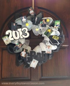 Graduation Wreath! I want someone to make this for me!!