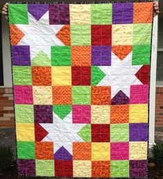 Jewel Stars - great child quilt