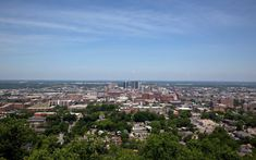 The Best View in Every State Alabama from the Vulcan Statue: From the observation deck at the base, people can enjoy an impressive view more than 120 feet above the city.