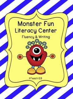 Literacy center:  Monster Fun #1 - aligned with CCSS $
