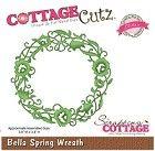 Cottage Cutz - Dies - Bella Spring Wreath