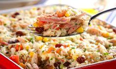 Receitas práticas de arroz de forno - Culinária - MdeMulher - Ed. Abril