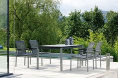 LAZY DINING meble ogrodowe Outdoor Furniture Sets, Outdoor Decor, Lazy, Aluminium, House, Furnitures, Objects, Home Decor, Garden Furniture Sets