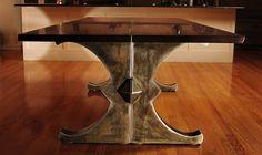 Custom Made The Brooklyn X Dining Table