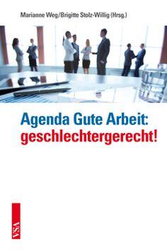 Buch-Cover Agenda Gute Arbeit: geschlechtergerecht!