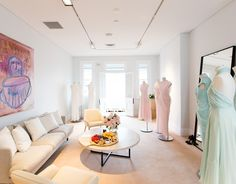 The Private Suite located at the upper level of the CAMILLA AND MARC flagship boutique in Five Ways, Paddington (NSW). Appointments now available for private styling or bridal sessions. Please contact 02 9357 5822 or fiveways@camillaandmarc.com