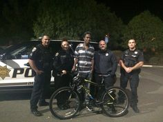 This teenager was walking for hours to and from work — until a police stop changed his life >>> The kid was walking more than 2 hours each way to get to and from work.  A cop stopped him, gave him a ride home, and organized the purchase of a new bicycle for him.  Good people all around in this story.