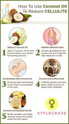 How To Use Coconut Oil To Reduce Cellulite?