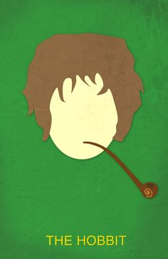This is part of my ongoing minimalist movie poster I started some time ago with Hunger Games. I recently saw The Hobbit and I absolutely loved it. The Hobbit Minimalist Movie Poster Minimal Movie Posters, Minimal Poster, Hobbit Bilbo, Bilbo Baggins, Minimalist Artwork, Poster Design Inspiration, Poster Ideas, Alternative Movie Posters, Classic Books